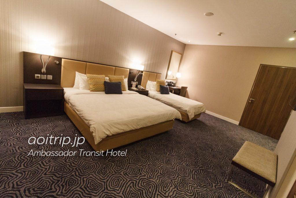 アンバサダートランジットホテルシンガポールのお部屋