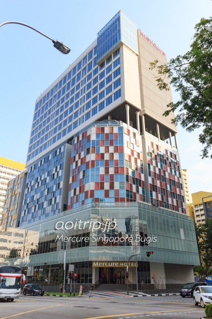 メルキュールシンガポールブギス ホテルの外観