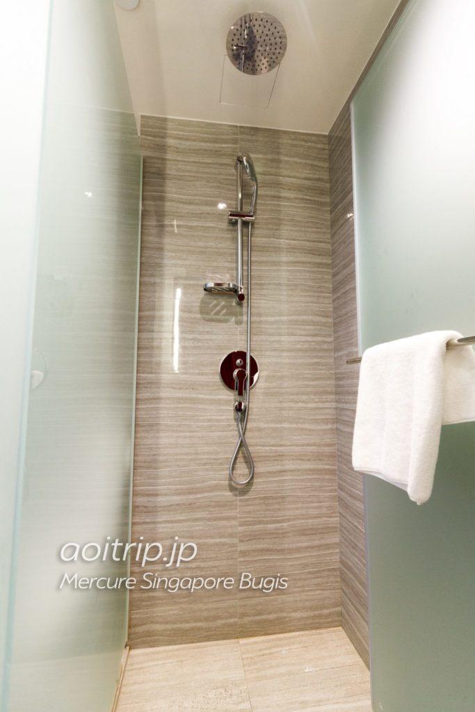 メルキュールシンガポールブギス シャワールーム