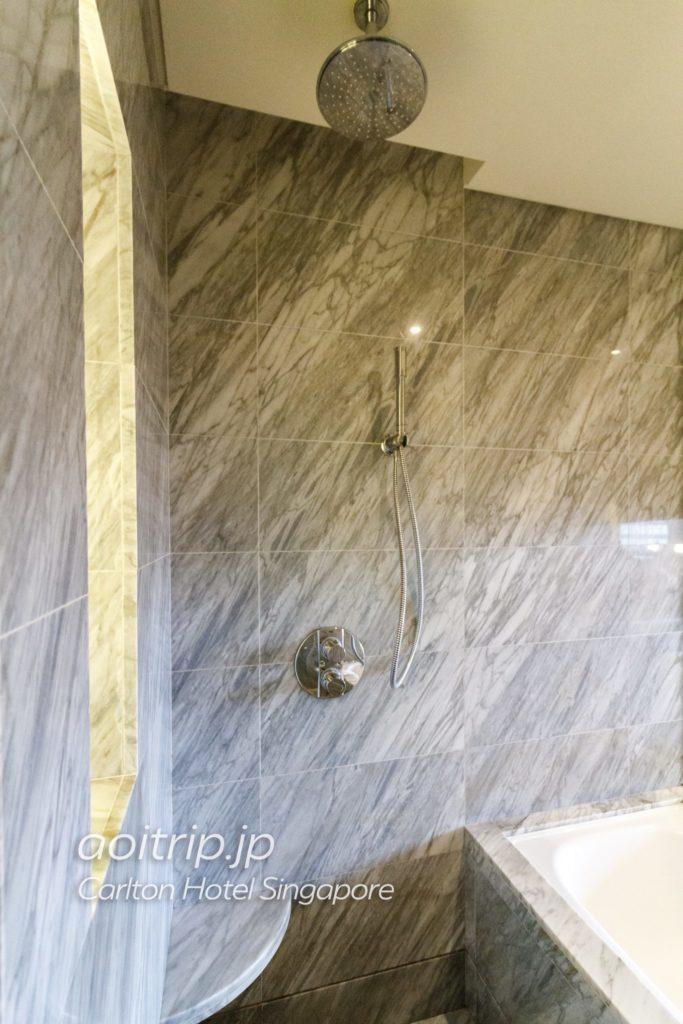 カールトンホテルシンガポール シャワー