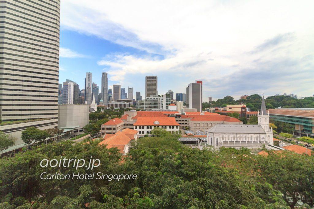カールトンホテルシンガポール プレミアルームの眺望