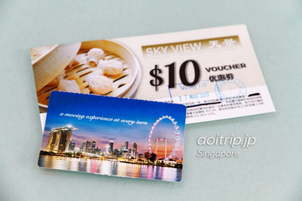 シンガポールフライヤー チケット