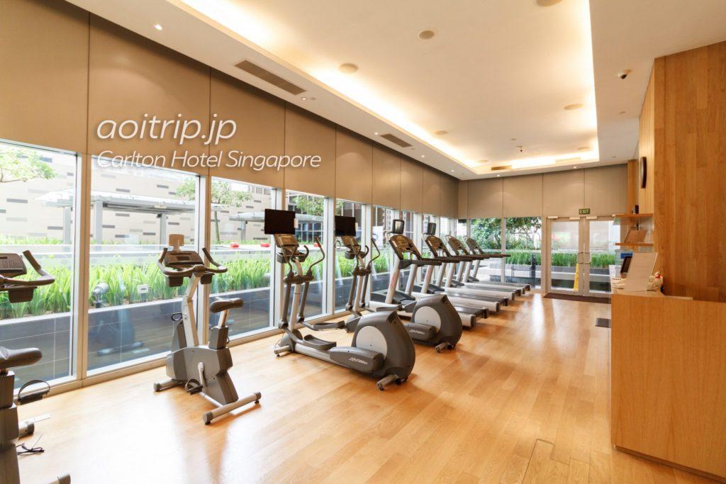 カールトンホテルシンガポール フィットネスジム