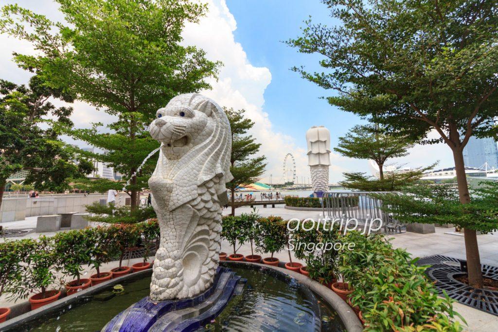 ミニマーライオン像