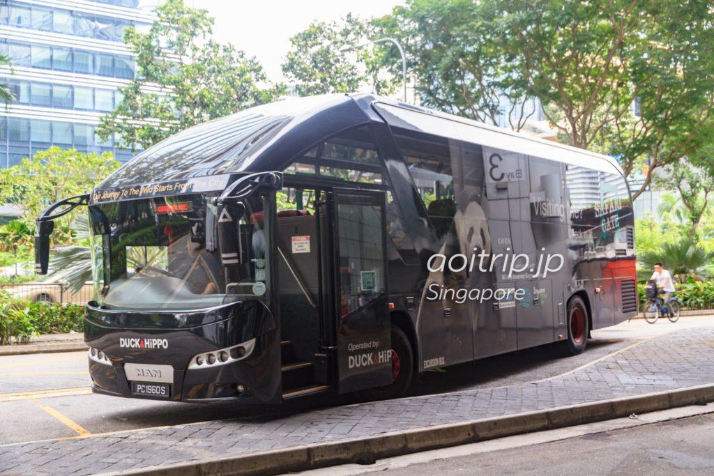 シンガポールのサファリゲートバス