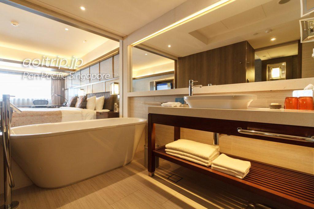 パンパシフィックシンガポール バスルーム