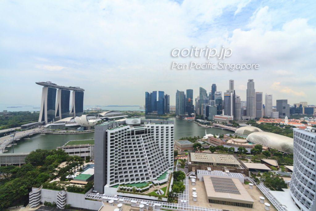 パンパシフィックシンガポール ハーバースタジオの眺望