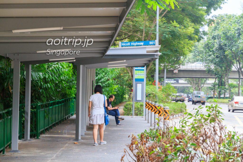 シンガポール バス停