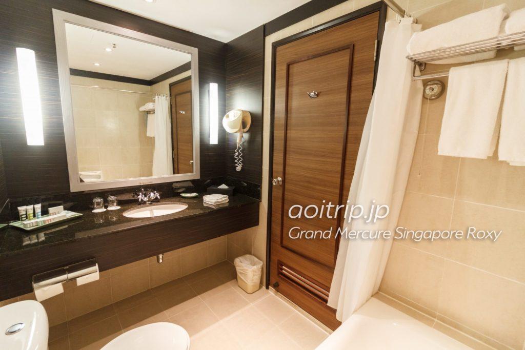 グランドメルキュールシンガポールロキシー バスルーム
