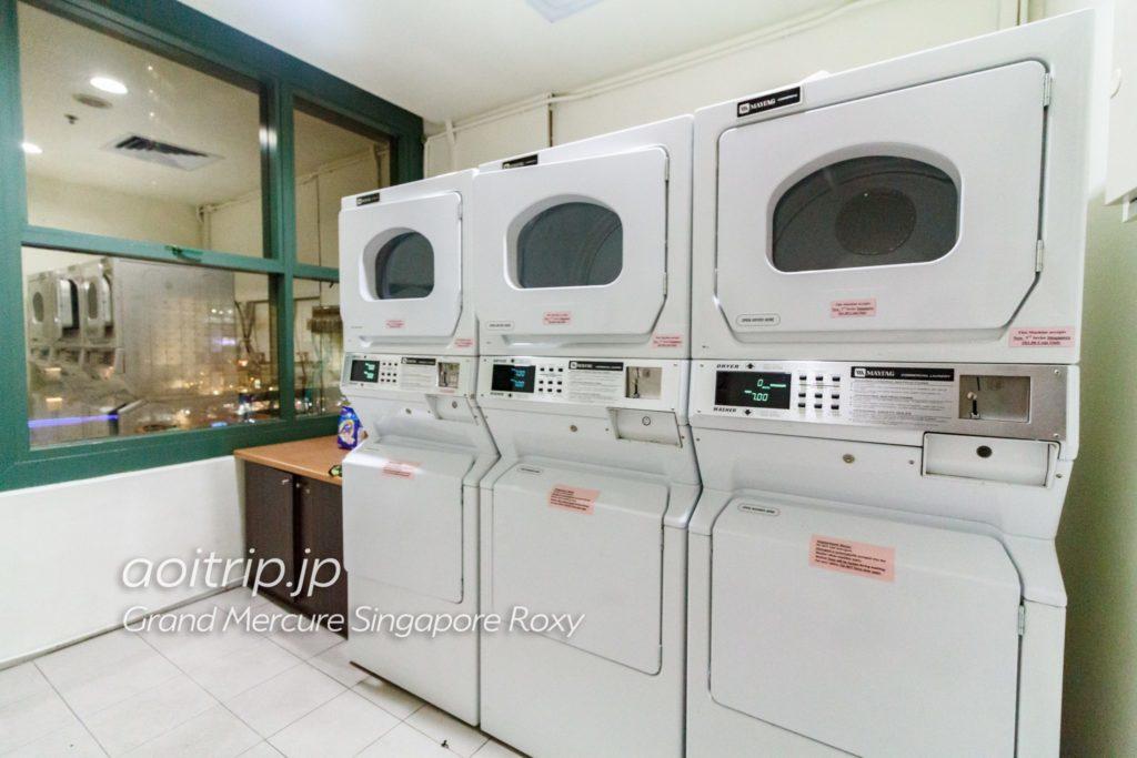 グランドメルキュールシンガポールロキシーホテル 洗濯機
