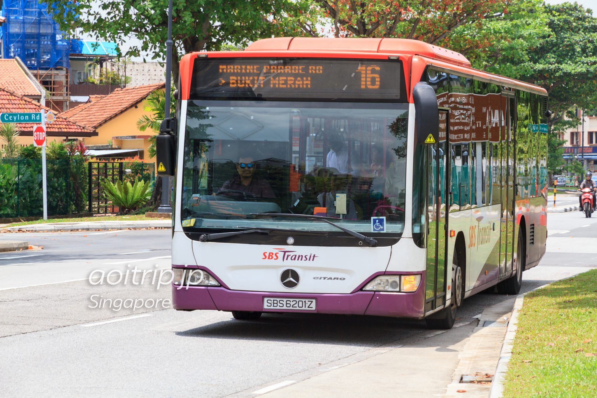 シンガポールの路線バス