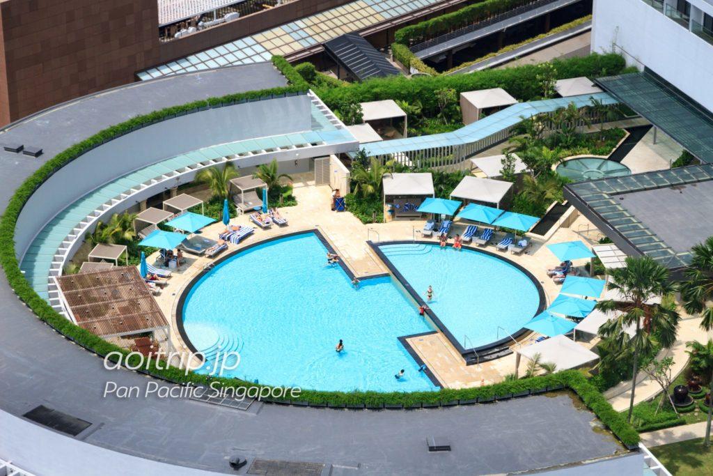 パンパシフィックシンガポール プール