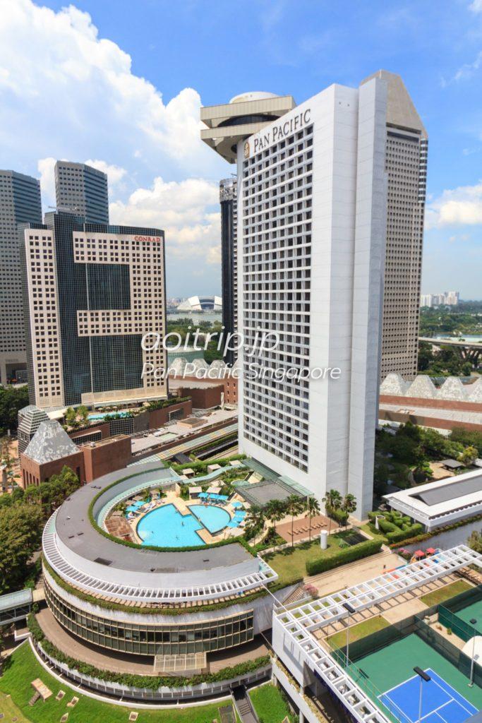 パンパシフィックシンガポール 外観写真
