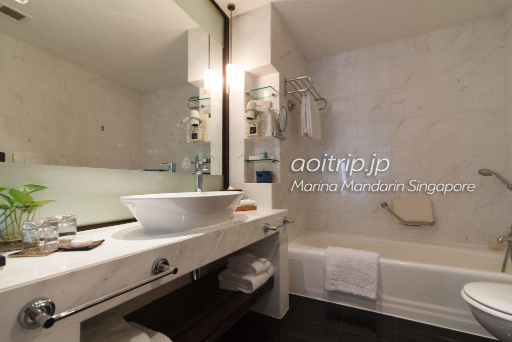 マリーナマンダリンシンガポール バスルーム