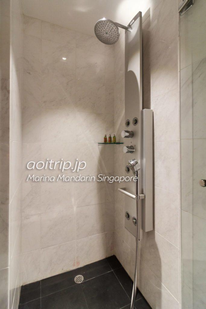 マリーナマンダリンシンガポール シャワー