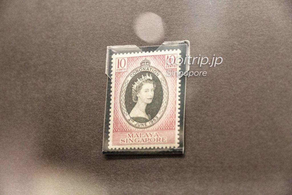 エリザベス2世の戴冠式 切手