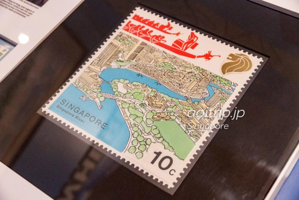 シンガポールリバーの切手