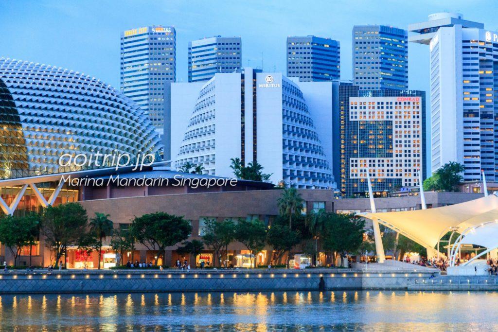 マリーナマンダリンシンガポール 外観写真