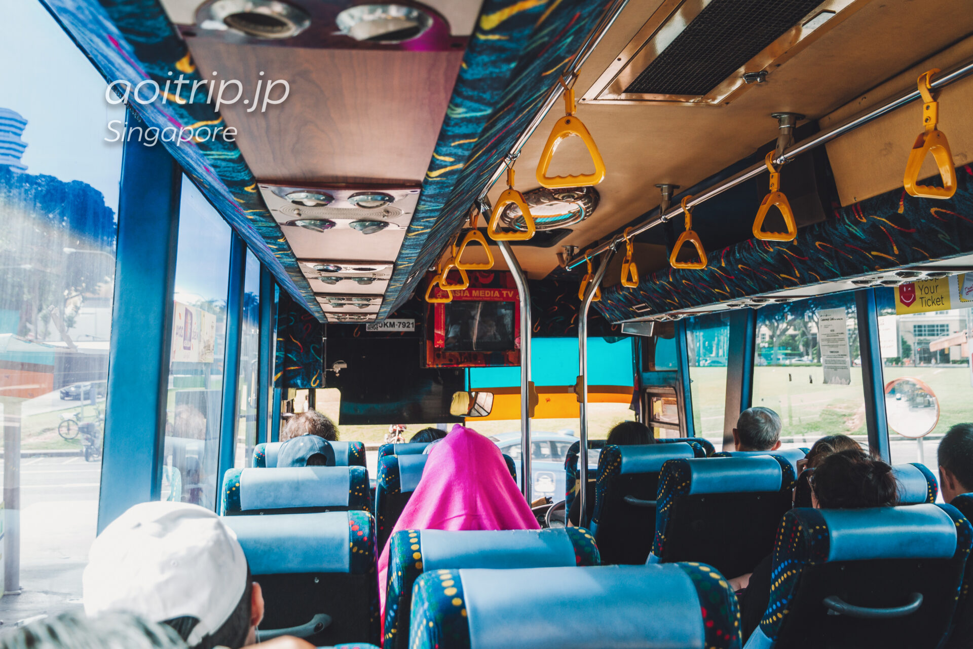 シンガポールからジョホールバルへのバス