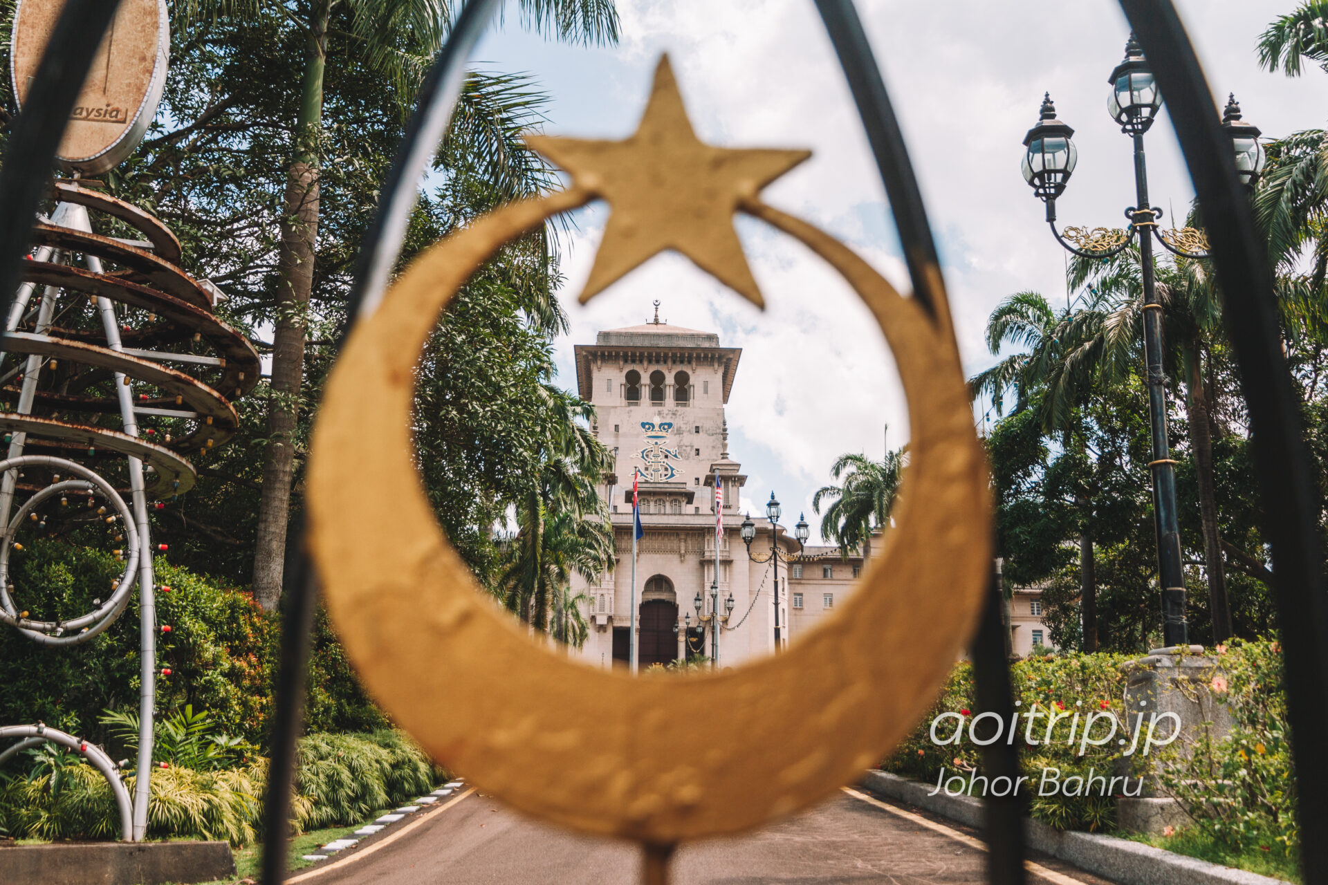 ジョホール州政府庁舎 Bangunan Sultan Ibrahim