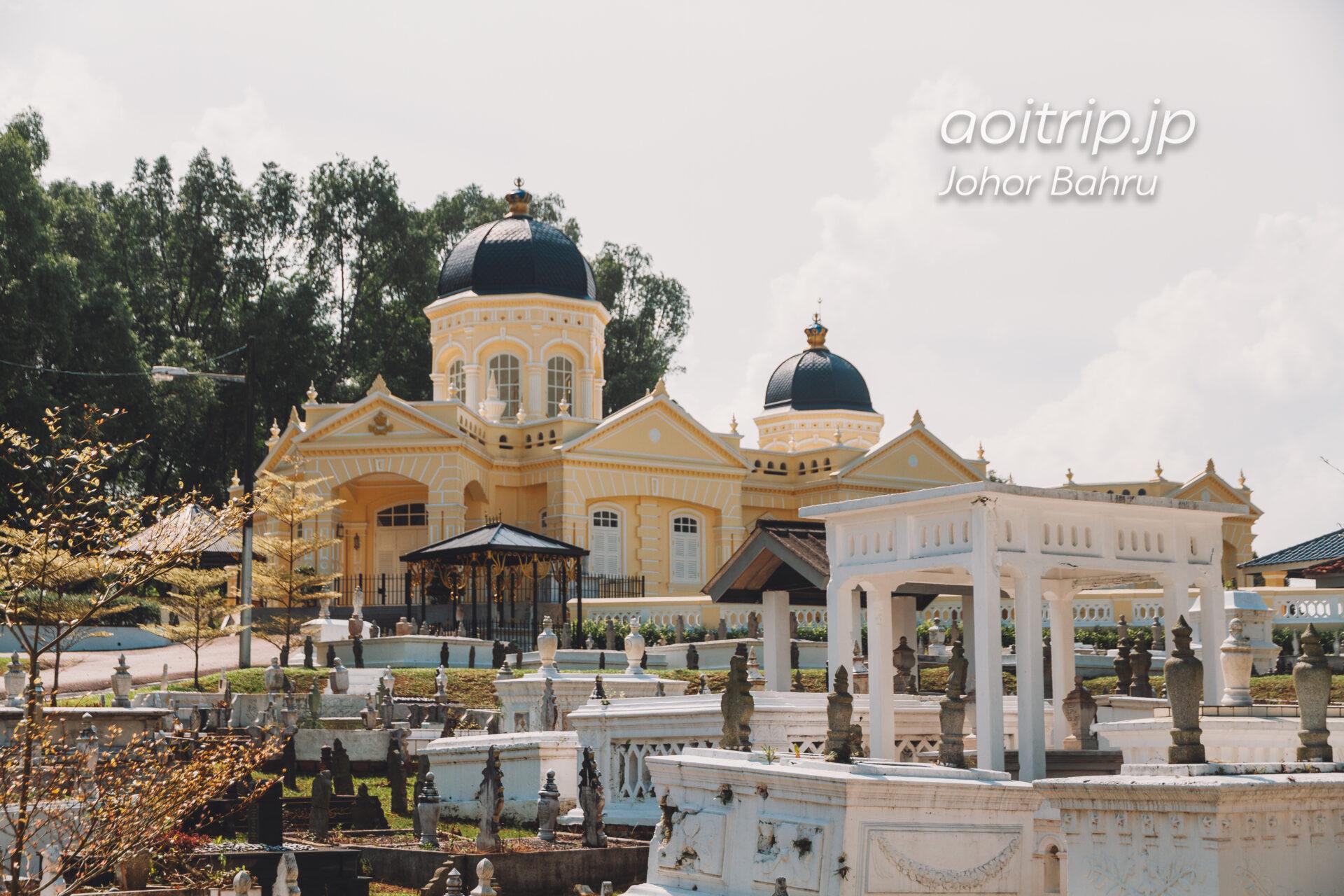 ジョホールバルの王立霊廟 Makam Diraja Mahmoodiah