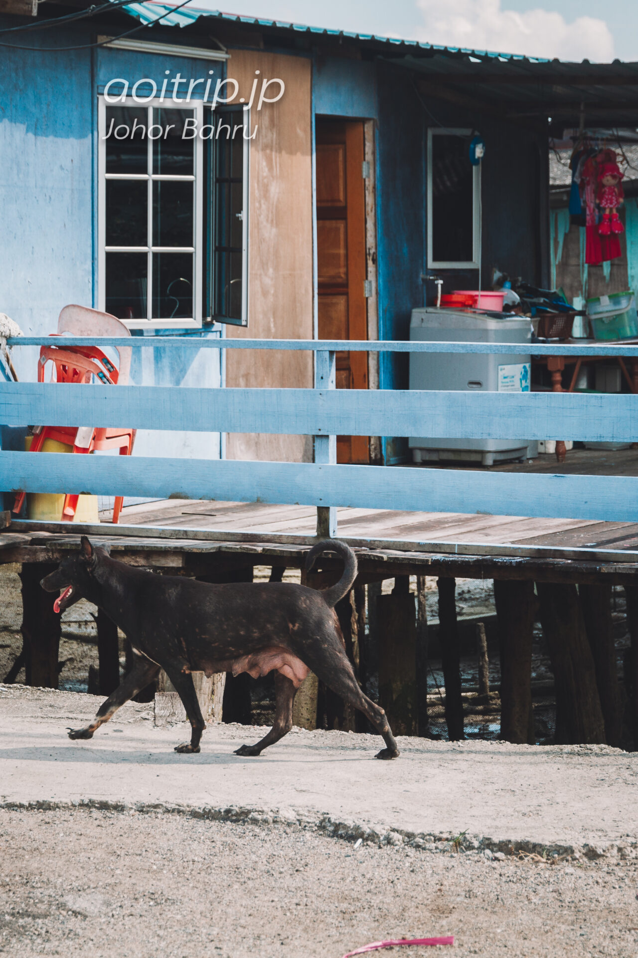 ジョホールバル Taman Lagunaの海岸
