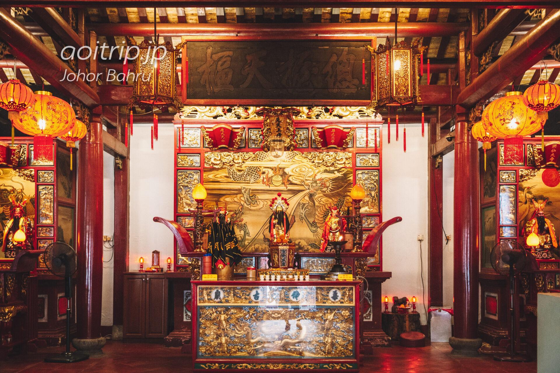 柔怫古廟 Johor Old Chinese Temple
