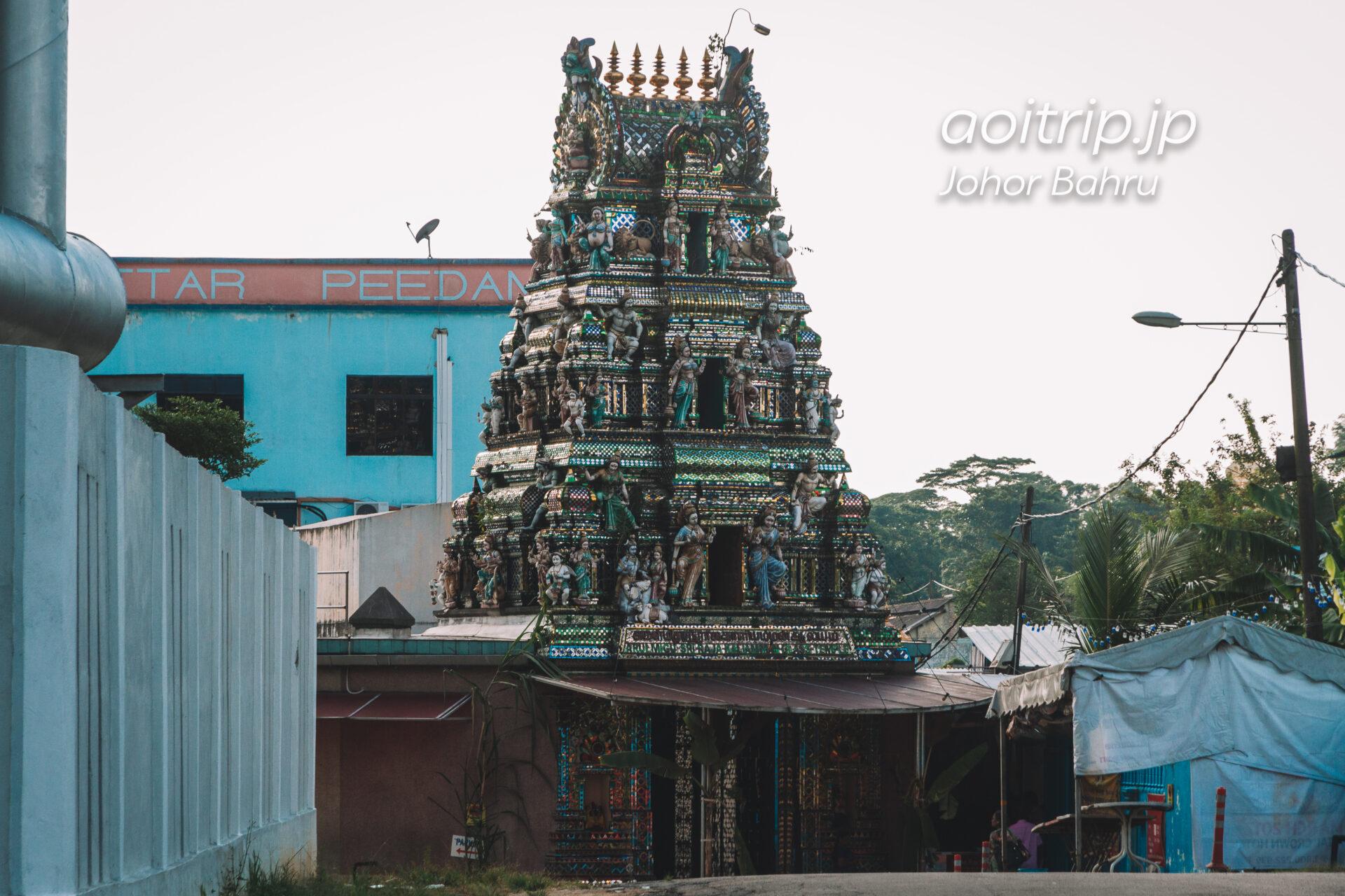 ジョホールバル スリ ラジャカリアマン グラス寺院 Arulmigu Sri Rajakaliamman Glass Temple