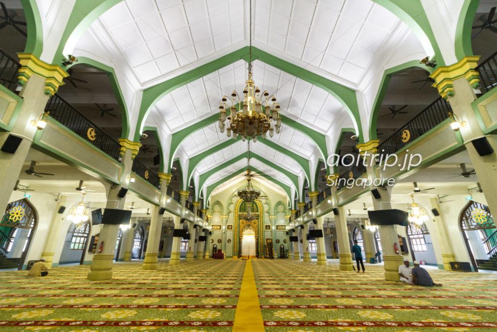 サルタンモスク内