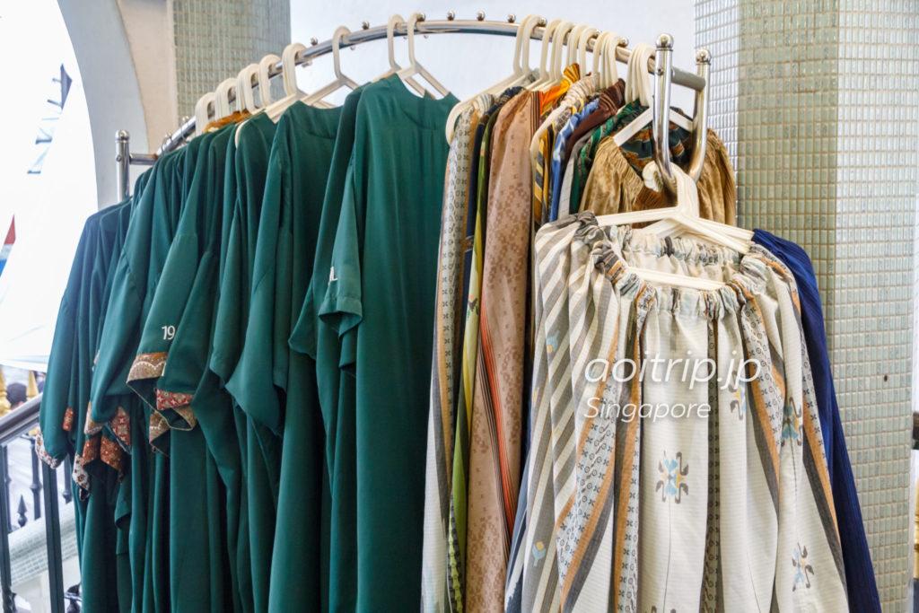 アラブストリート サルタンモスクの服装