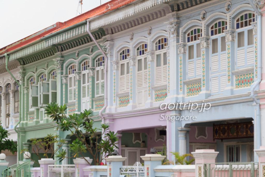 シンガポール・カトン地区のプラナカンハウス