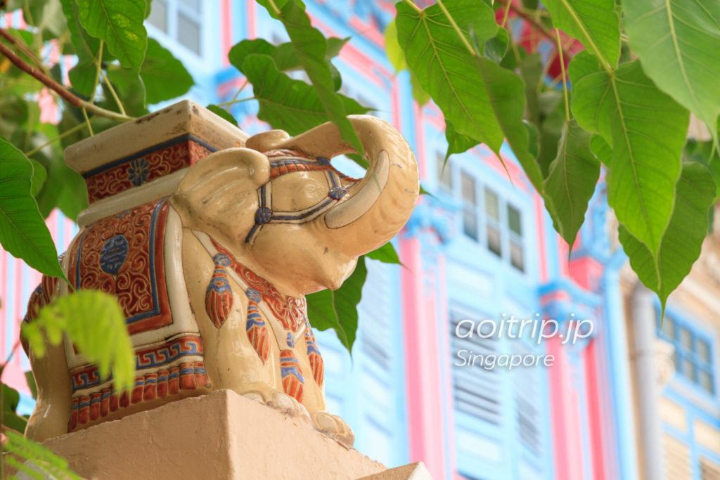カトン地区のプラナカンハウス