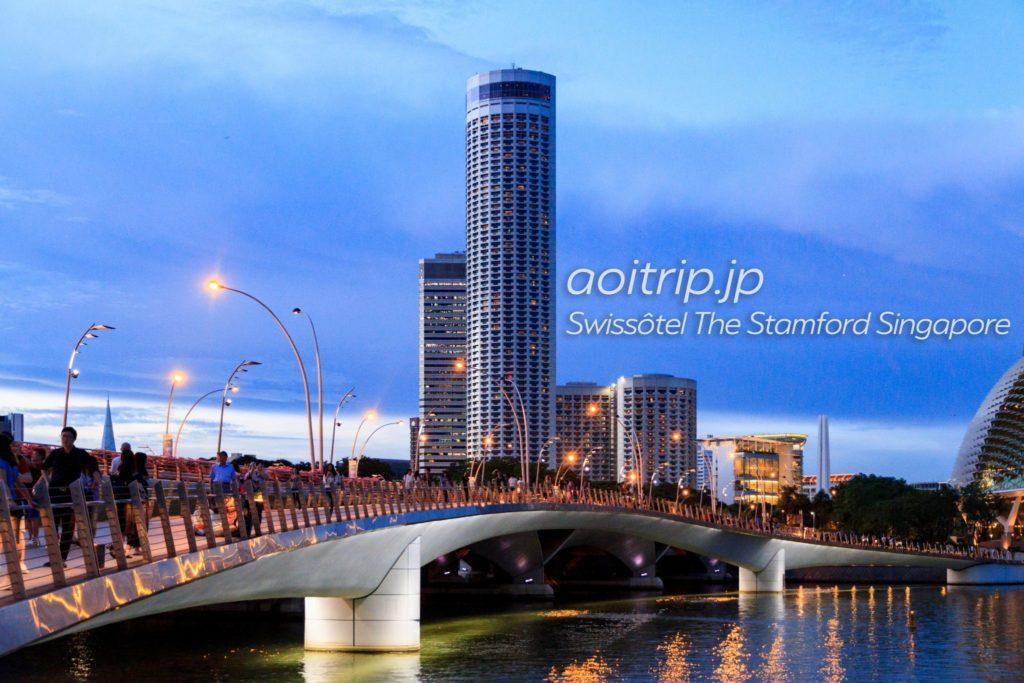 スイソテルザスタンフォードシンガポール ホテル外観