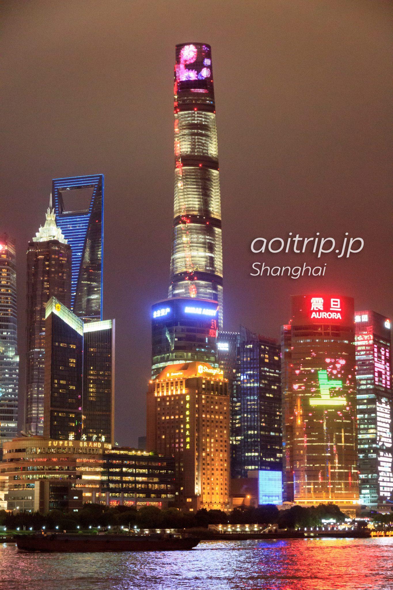 上海タワー Shanghai Tower、上海中心大厦