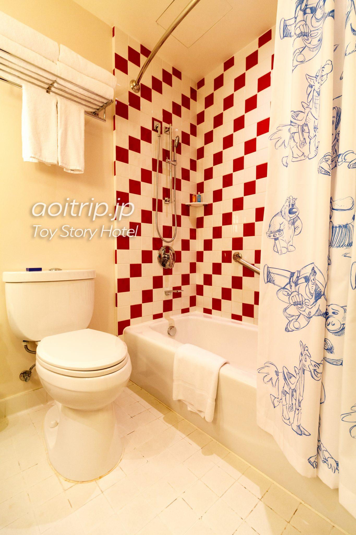 トイストーリーホテル バスルーム
