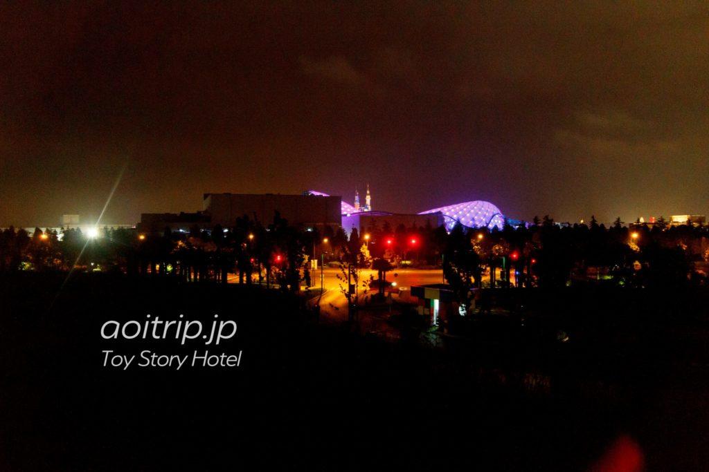 トイストーリーホテル パークビューからの眺望