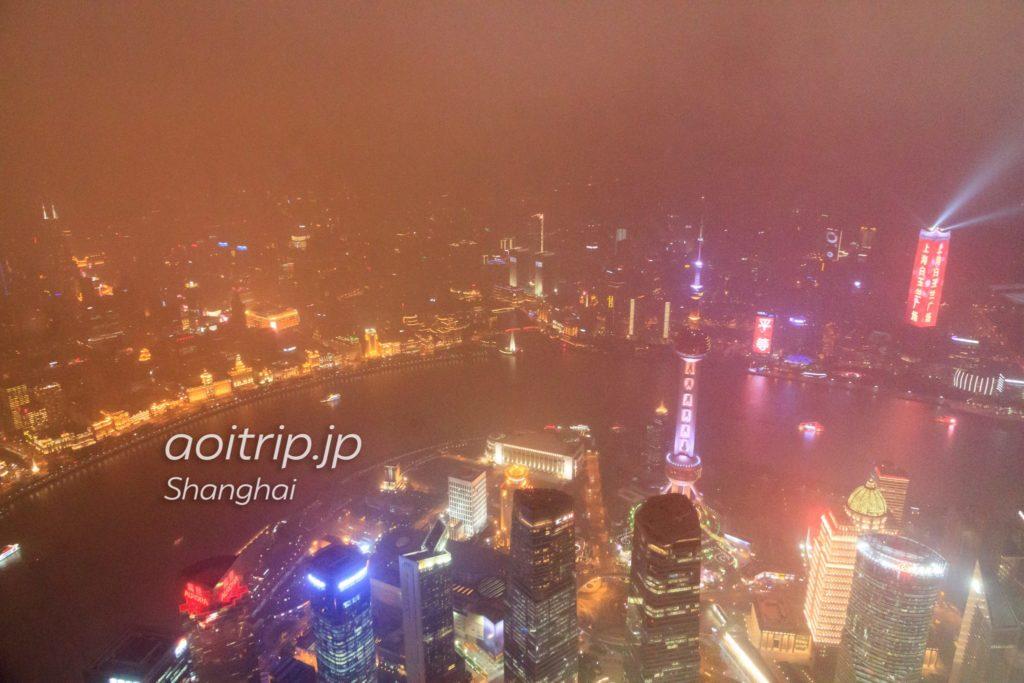 上海タワーからの夜景
