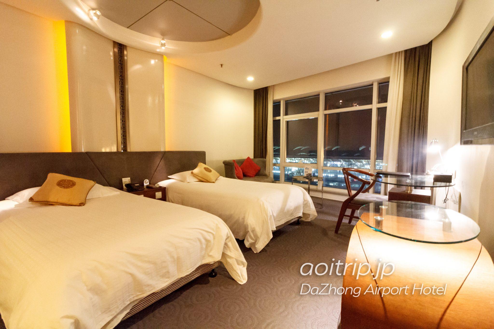 上海 ダージョンエアポートホテルのお部屋