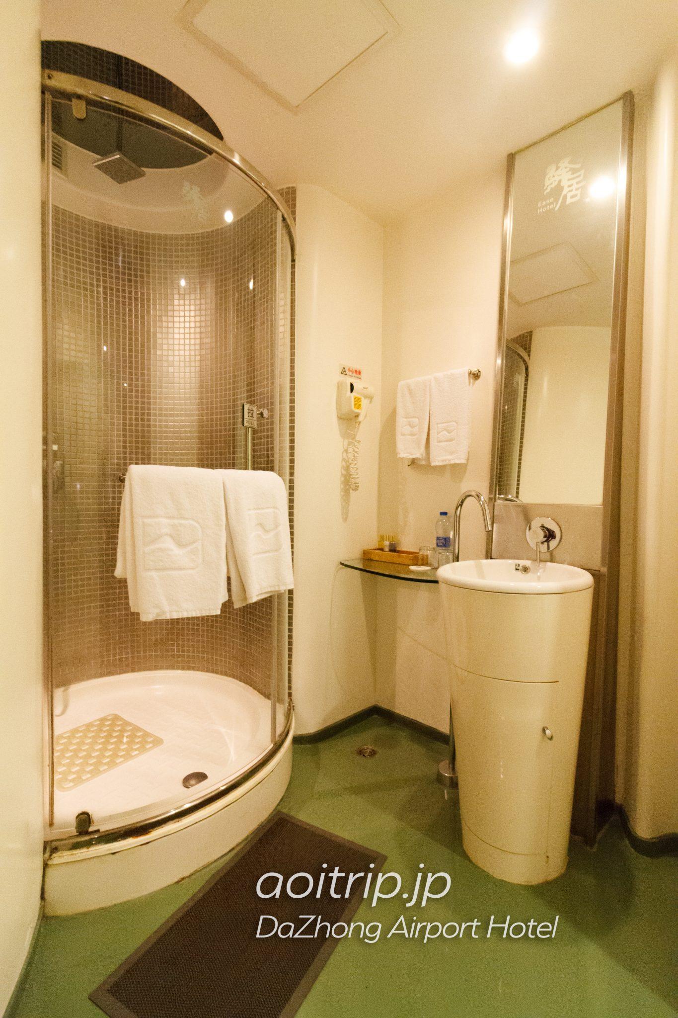 ダージョンエアポートホテル バスルーム