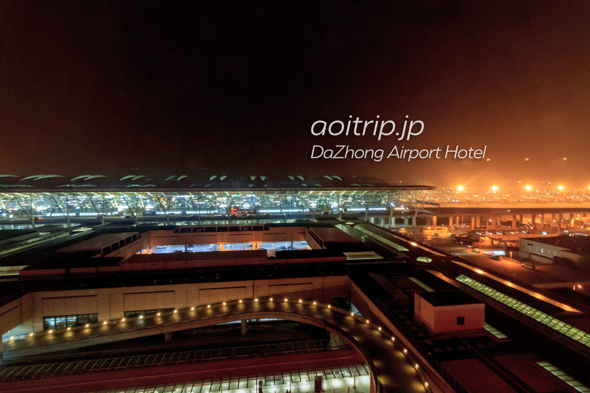 ダージョンエアポートホテル お部屋からの眺望(夜景)