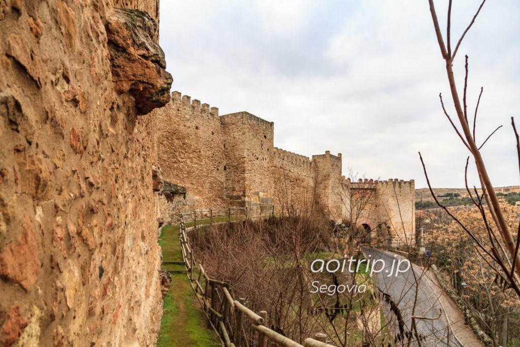 セゴビアの城壁