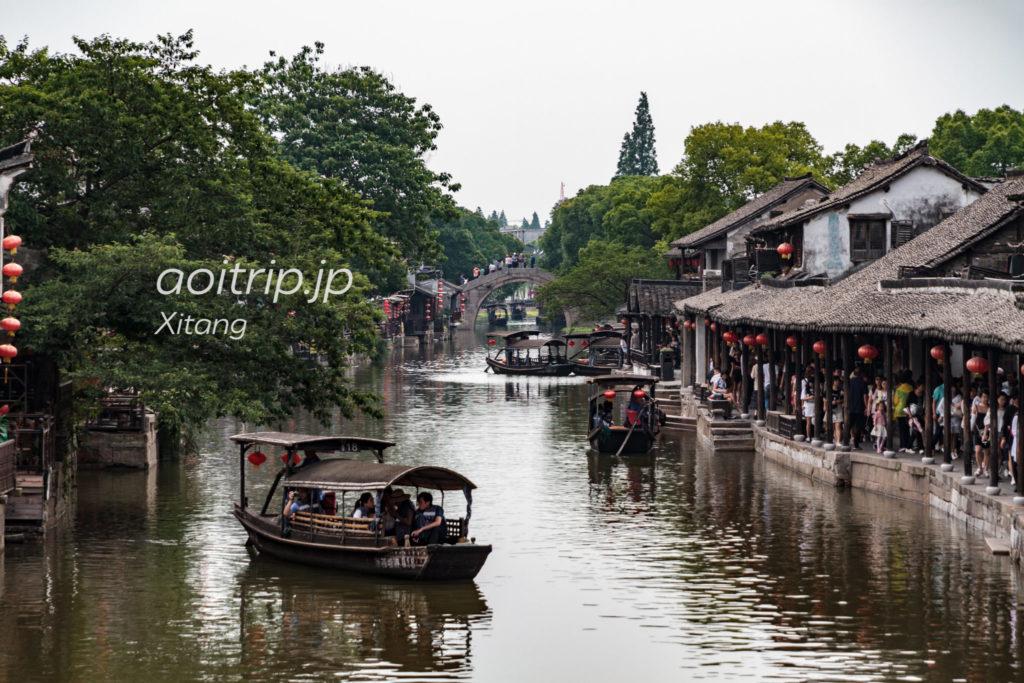 西塘 永寧橋からの眺望