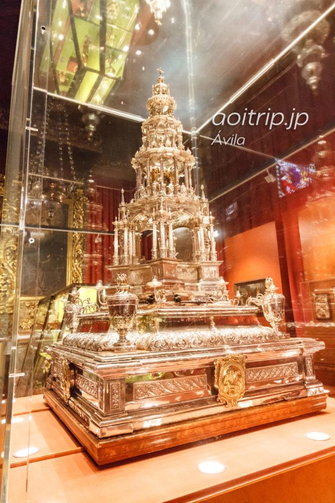 アビラ大聖堂 フアンデアルファの聖体顕示台