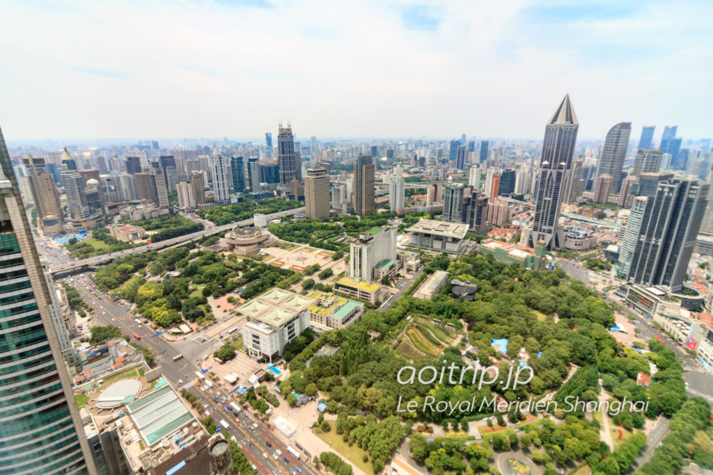 Le Royal Méridien Shanghai view