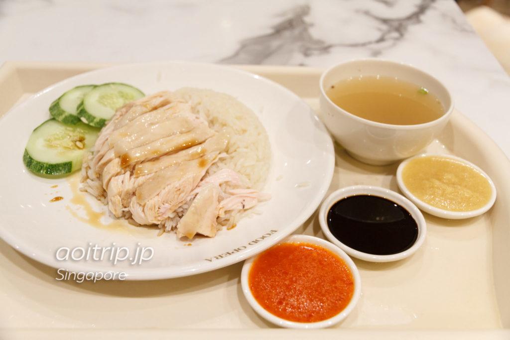 三巡海南鶏飯 Sergeant Hainese Chicken Riceのチキンライス