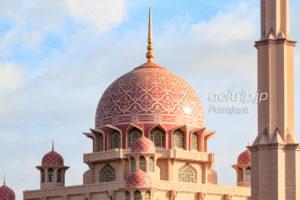 プトラジャヤのピンクモスク
