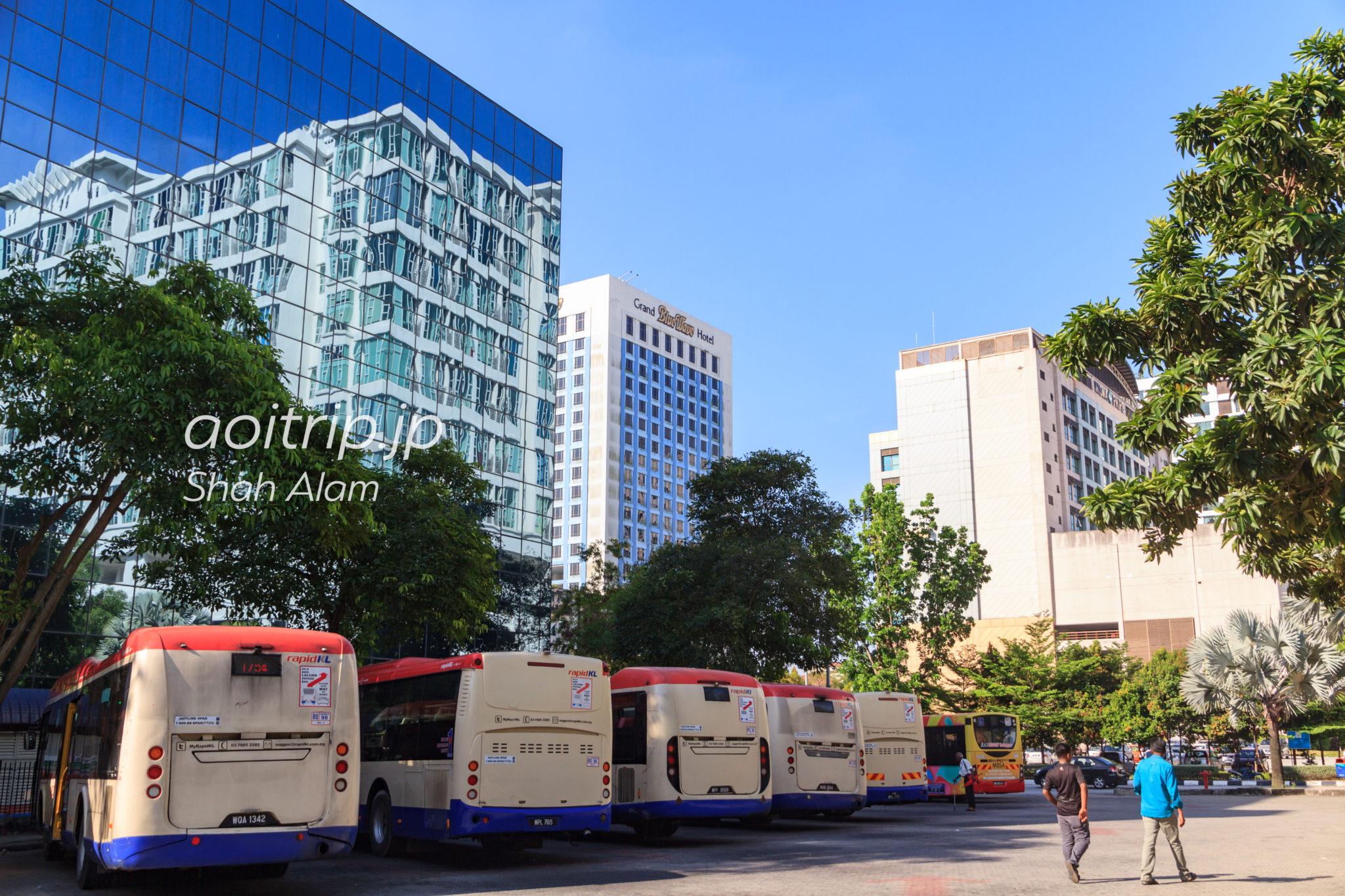 Hentian Pasat Bandar Shah Alam(ブルーモスクの最寄りバスターミナル)