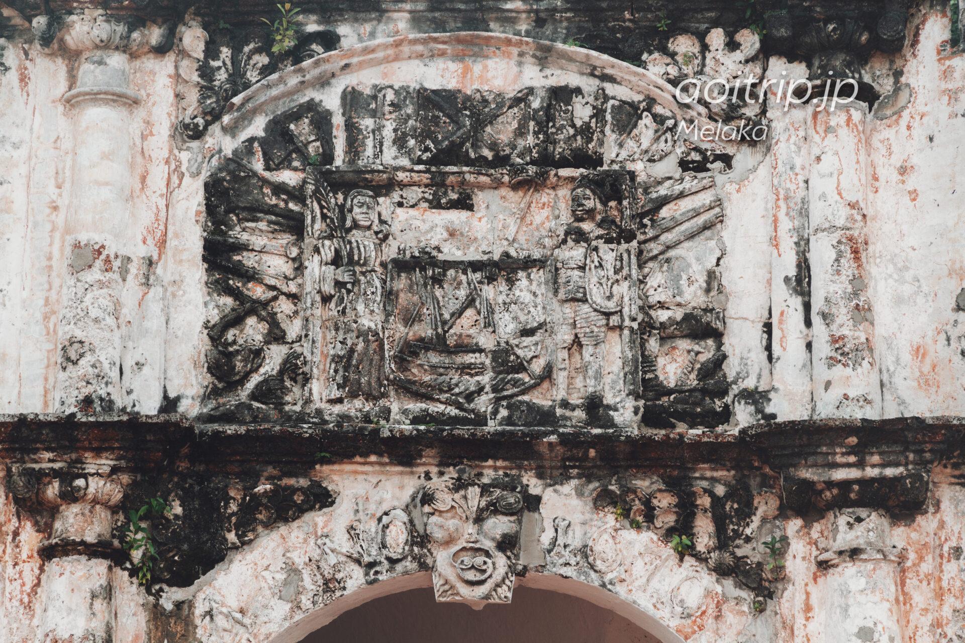 サンチャゴ砦 Porta de Santiago(A Famosa)