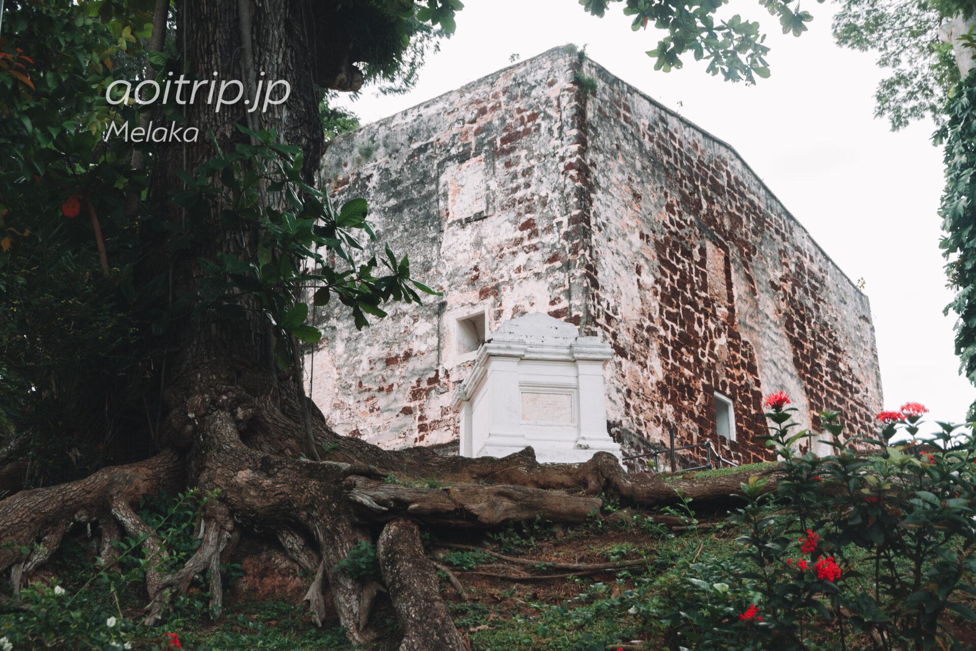 マラッカのセントポール教会跡 St. Paul's Church