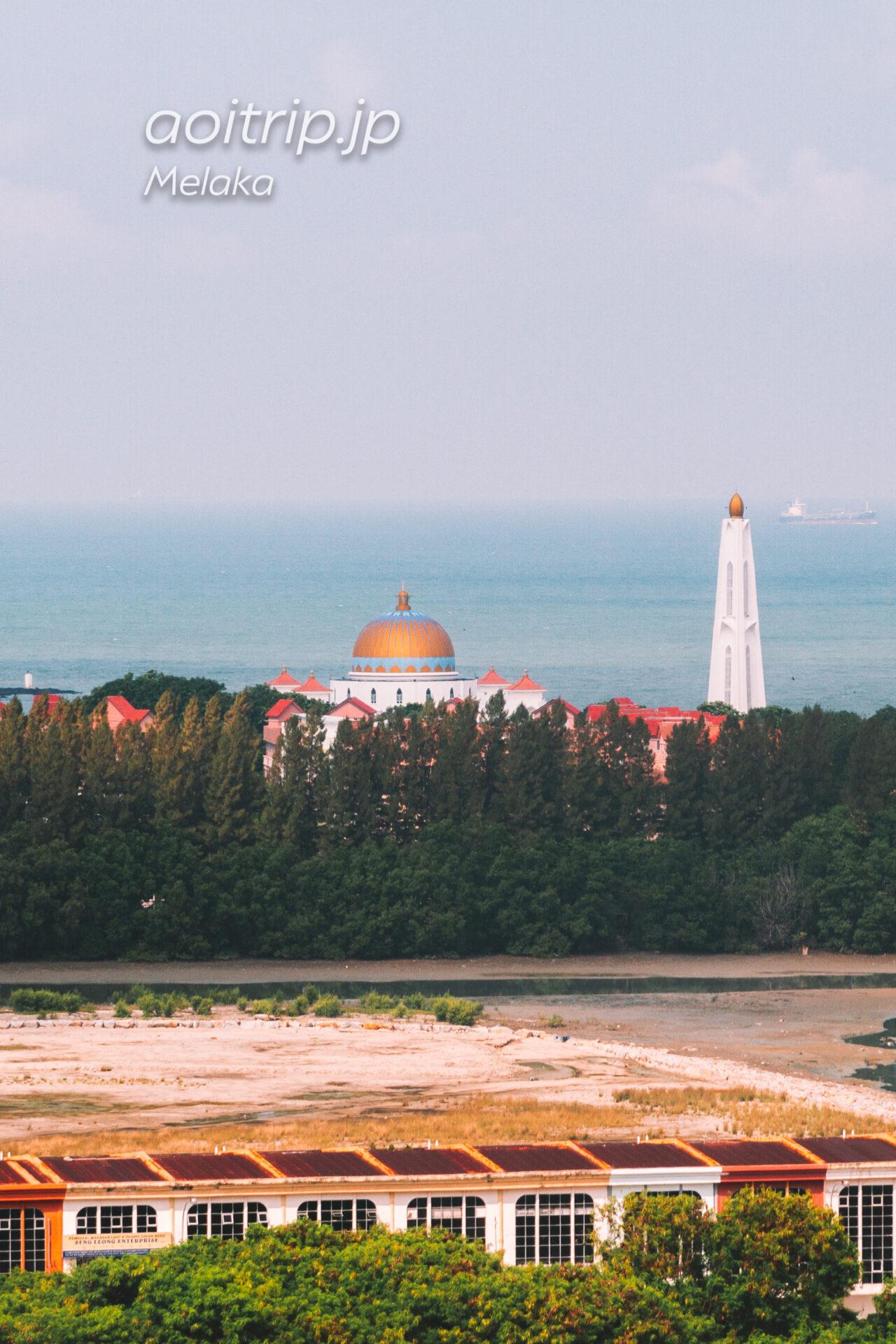 マラッカ水上モスク